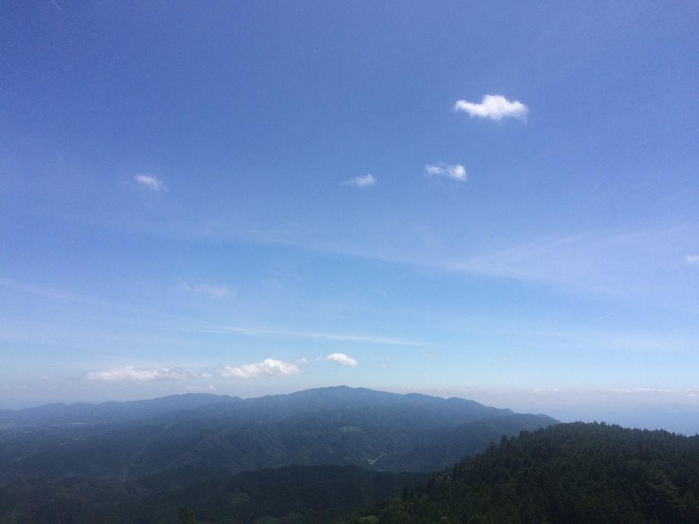 金剛山遠景